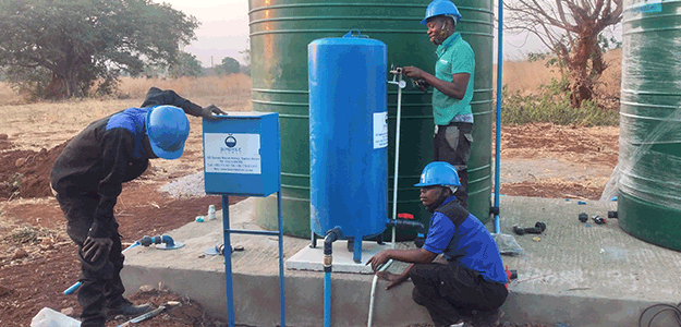 borehole installation